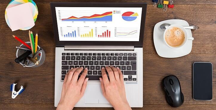 Chief Data Officer analyzing data